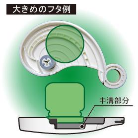 キャップオープナーeg plus 大きめのフタ使用イメージ図1